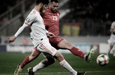 Marco Asensio fue uno de los jugadores más activos durante el encuentro | Foto: UEFA.com
