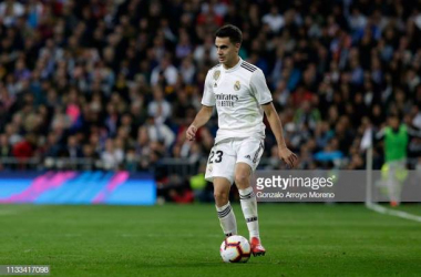 Sergio Reguilon in action for Real Madrid (Image from Getty Images/Gonzalo Arroyo Moreno)