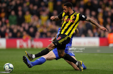 An in-form Leicester City entertain a manager-less Watford on Wednesday night | Photo by Getty Images/Richard Heathcote