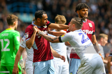 Leeds United 1-1 Aston Villa: Points shared after astonishing scenes at Elland Road
