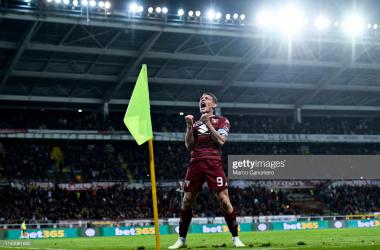 Andrea Belotti celebrating a goal<div>(Photo by Marco Canoniero/LightRocket via Getty Images)<br></div>