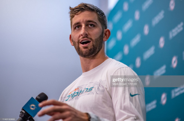 Rosen speaking (Mark Brown/Getty Images)