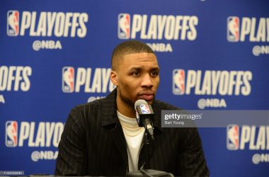 Damian Lillard reveals Blazers' referee distraction in Game 1 loss