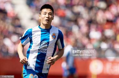 Wu Lei is one of Espanyol's dangermen (Getty Images/Quality Sport Image)