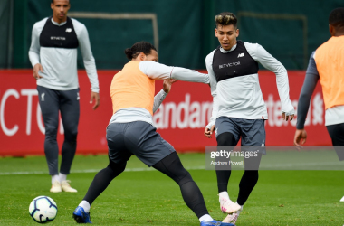 Roberto Firmino to be assessed ahead of Barcelona clash