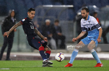 Pulgar and Badelj in action last season against one another.<div>(Photo by Matteo Ciambelli/NurPhoto via Getty Images)<br></div>