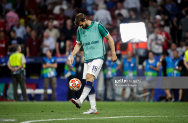 <div>MADRID, SPAIN - JUNE 1: Fernando Llorente of Tottenham Hotspur during the UEFA Champions League match between Tottenham Hotspur v Liverpool at the Wanda Metropolitano on June 1, 2019 in Madrid Spain (Photo by David S. Bustamante/Soccrates/Getty Images)</div><div><br></div>