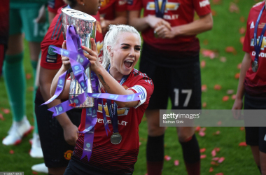 Manchester United agree terms for captain Alex Greenwood to sign for Olympique Lyonnais