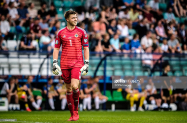 The Burnley players on international duty