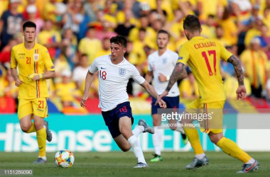 Mason Mount representing England Under-21's (Photo credit: Soccrates Images/Getty Images)