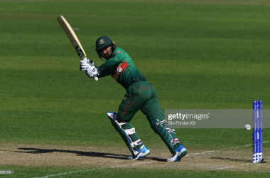 Liton Das scored 73 against India on Tuesday, Photo: Getty Images