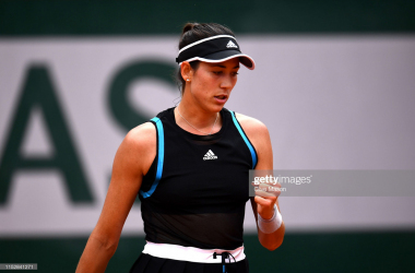Muguruza once again reached the fourth round with an impressive victory (Getty Images/Clive Mason)