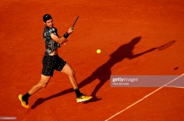 French Open: Karen Khachanov upsets Juan Martin Del Potro to reach first major quarterfinal