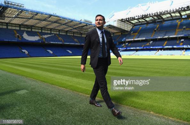 Frank Lampard back at The Bridge | Photo: Getty/ Darren Walsh