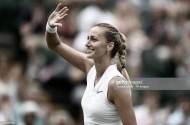 Kvitova regresa a la segunda semana de Wimbledon