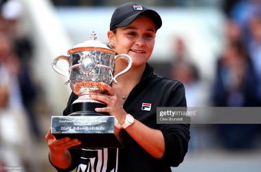 French Open: Ashleigh Barty downs Marketa Vondrousova to claim title
