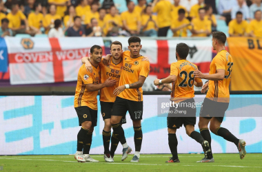 Wolves players had a lot of reasons to celebrate against Newcastle.&nbsp;<div>Photo by: Getty Images/Lintao Zhang</div>