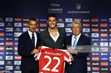 Atletico Madrid complete Mario Hermoso's signing