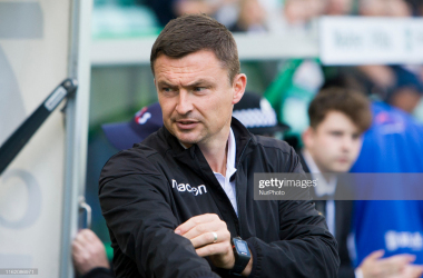 Hibs' manager Paul Heckingbottom knows a defeat could prove costly (Photo by Ewan Bootman/NurPhoto via Getty Images)