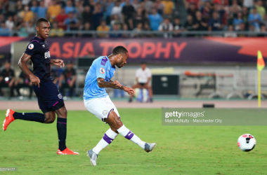 Manchester City 4-1 West Ham: Sterling settles second Asia Trophy semi
