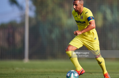 Santi Cazorla in preseason action against Levante (Getty Images/Quality Sport Images)