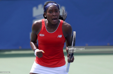 "Cori Gauff: ""I want to be the best player in history"""