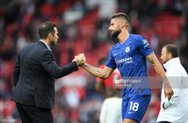 Lampard commends 'fantastic' Giroud
