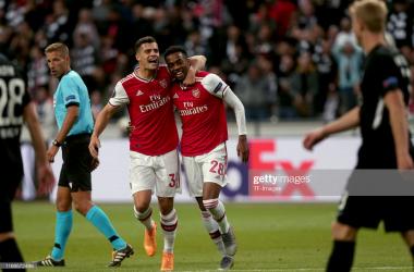 Eintracht Frankfurt 0-3 Arsenal: The Warm Down