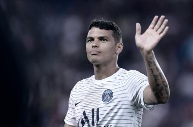 Jornal francês garante Thiago Silva fora do confronto PSG x Borussia Dortmund pela Champions