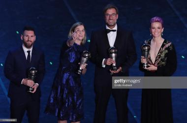 Jurgen Klopp lands FIFA Best Men's Coach 2019 after stunning year