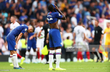 "<a href=""https://media.gettyimages.com/photos/fikayo-tomori-of-chelsea-reacts-during-the-premier-league-match-fc-picture-id1171343009?s=2048x2048"">(</a>Photo: Getty Images - Clive Rose)"