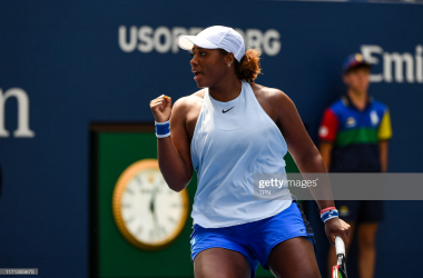 Taylor Townsend has been having quite a tournament so far, soaring through the qualifying rounds last week | Photo: TPN/Getty Images