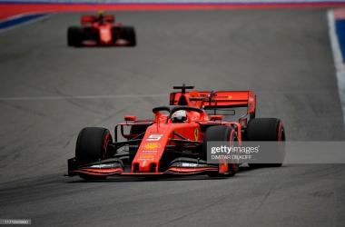 Ferrari dominate in FP3