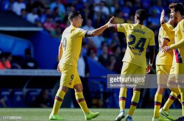 Getafe 0-2 Barcelona: Barcelona get first away win at the Coliseum