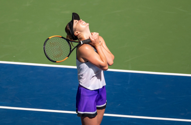 Elina Svitolina becomes the first Ukrainian woman to reach a US Open semifinal (Getty Images / Tim Clayton - Corbis)