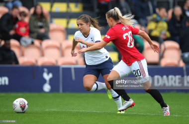 Manchester United Women v Spurs Women: United look to get back to winning ways
