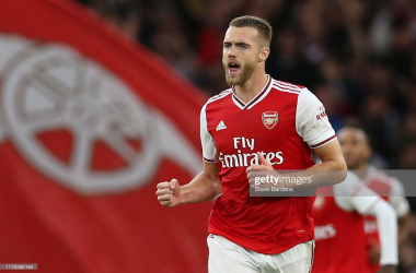 Chambers happy to come good with goal after defensive error