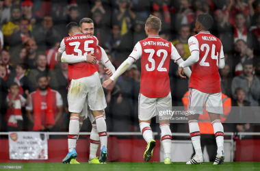 Arsenal 5-0 Nottingham Forest: Five star Gunners send Championship side to the sword