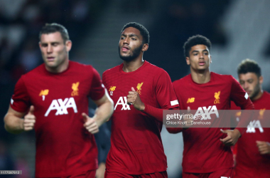 Joe Gomez aware of the need for patience for first-team opportunities