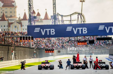 Leclerc remains on top in Sochi