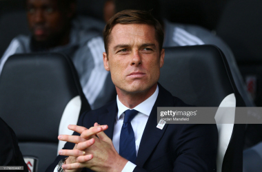LONDON, ENGLAND - OCTOBER 05: Scott Parker, manager of Fulham looks on during the Sky Bet Championship match between Fulham and Charlton Athletic at Craven Cottage on October 05, 2019 in London, England. (Photo by Jordan Mansfield/Getty Images)
