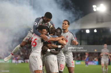 Crystal Palace vs Liverpool: The last five meetings