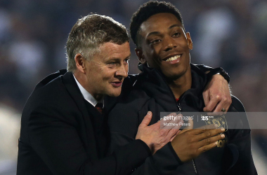 Martial's excellence is living in Fernandes' shadow