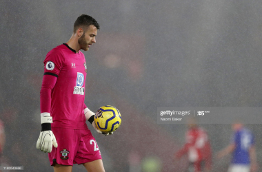 Angus Gunn set to leave Southampton