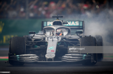 Hamilton won in Mexico (Photo credit: Getty Images, Clive Mason)