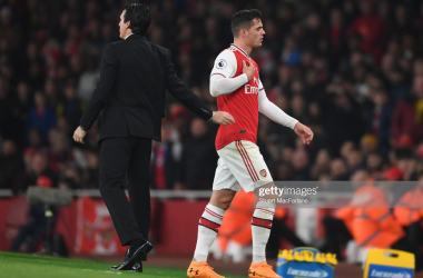 Xhaka releases statement after Crystal Palace incident