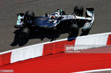 Hamilton tops the timesheets in US GP FP2