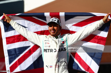 Hamilton secures sixth world title in Austin