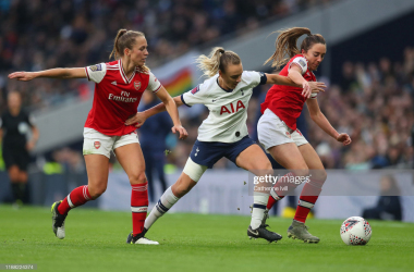 Tottenham 0-2 Arsenal Women: Gunners continue to impress with derby victory