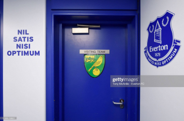 Norwich will be the visitors to Goodison again this weekend(Photo by Tony McArdle/Everton FC via Getty Images)
